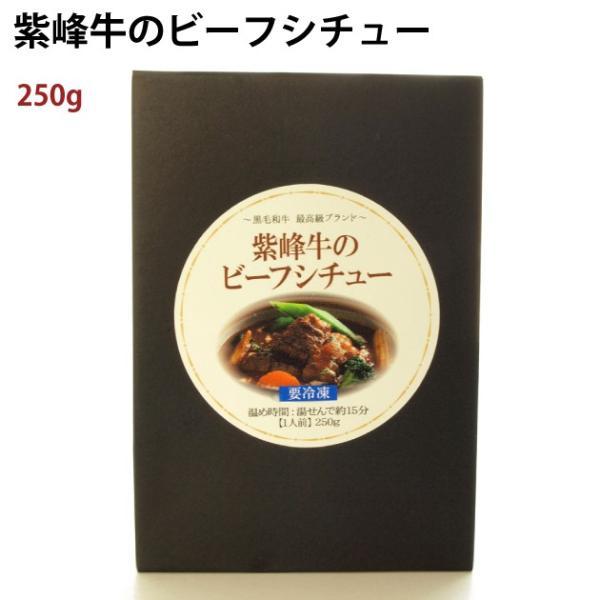 三洋産業 紫峰牛 ビーフシチュー 250g 2パック 送料込