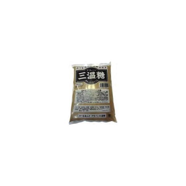 アラバン 黒三温糖 800g 6パック