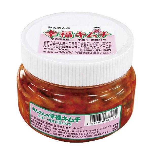 韓国食品 幸福キムチ・辛さ控え目 300g 6個 送料込