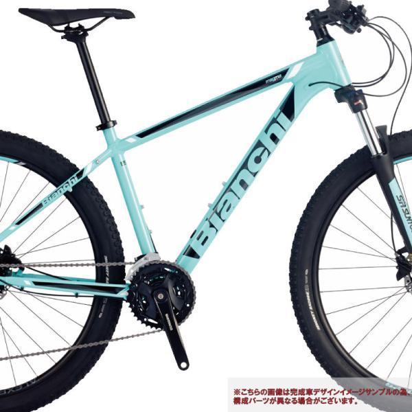 (特典付)マウンテンバイク 2018年モデル BIANCHI ビアンキ KUMA 27.2 クマ27.2 マットCK16|vehicle|03