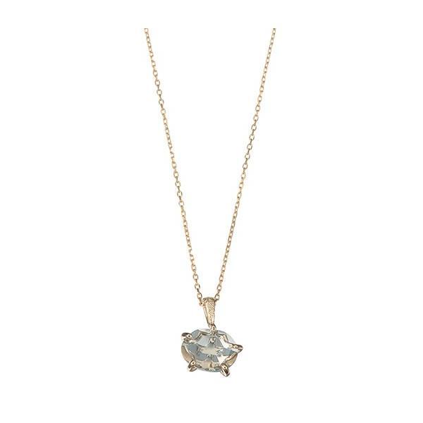 マレア リッチ Marea rich 17KJ-01 K10×ストーン スターフィッシュ ネックレス ペンダント Natural Starfish Necklace