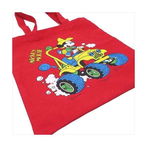 カラー トート トートバッグ ミッキーマウス ディズニー キャンプ RD スモールプラネット 34×34cm