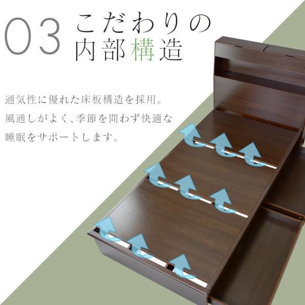 ベッド ベット ローベッド ベット フロアベッド ベット シングルサイズ 棚 コンセント付き フロアベッド ベット ベッドフレーム シングル オアシスS 北欧 新生活|velle|12