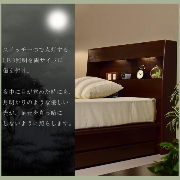 ベッド ベット ローベッド ベット フロアベッド ベット シングルサイズ 棚 コンセント付き フロアベッド ベット ベッドフレーム シングル オアシスS 北欧 新生活|velle|07