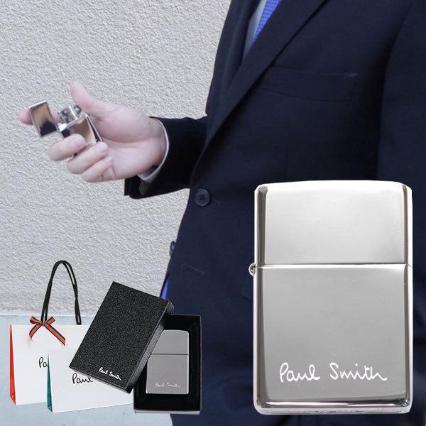 ポールスミス ジッポ zippo ロゴ 刻印 喫煙具 Paul Smith メンズ 正規品 新品 553764 北海道・沖縄は配送不可