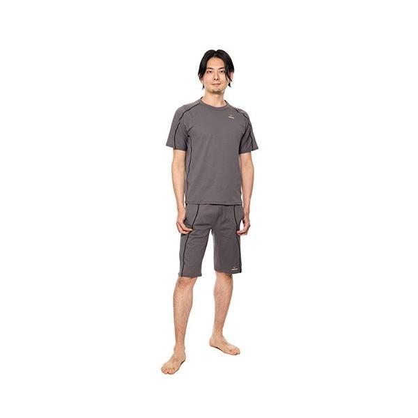 【 送料無料 】 VENEX メンズ リラックス ハーフパンツ ベネクス リカバリーウェア メッシュ素材 休息専用 疲労回復 venex 05