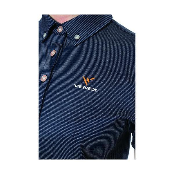 【 送料無料 】 VENEX レディース リフレッシュ ポロシャツ ベネクス リカバリーウェア 休息専用 疲労回復|venex|04