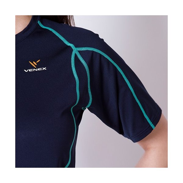 VENEX レディース リチャージ+(プラス) ショート 上下セット ベネクス リカバリーウェア 休息専用 疲労回復|venex|15