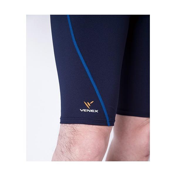 VENEX メンズ リチャージ+(プラス) ハーフタイツ ベネクス リカバリーウェア 休息専用 疲労回復 venex 12
