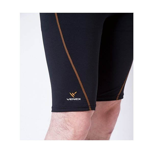 VENEX メンズ リチャージ+(プラス) ハーフタイツ ベネクス リカバリーウェア 休息専用 疲労回復 venex 13