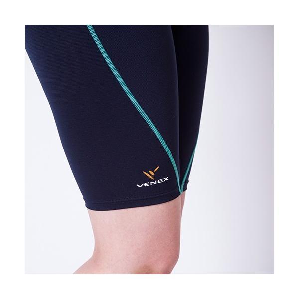 VENEX レディース リチャージ+(プラス) ハーフタイツ ベネクス リカバリーウェア 休息専用 疲労回復|venex|12