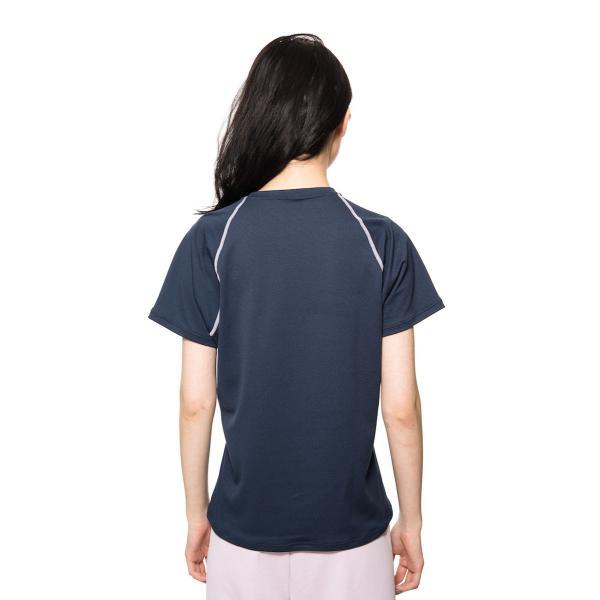 【 送料無料 】 VENEX レディース リラックス ショートスリーブ Tシャツ ベネクス リカバリーウェア メッシュ素材 休息専用 疲労回復 venex 04