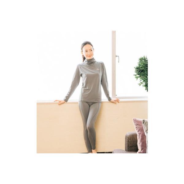 VENEX レディース フリーフィールウォーム ロングスリーブ タートルネック 休息専用 疲労回復 吸湿発熱|venex|10