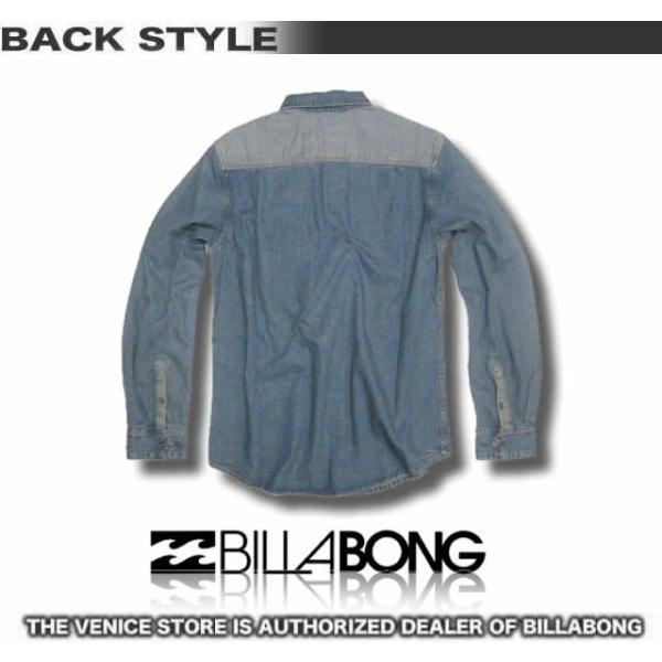 ビラボン メンズ デニム シャツ BILLABONG アウトレット AE012-103/サーフブランド|venice|03