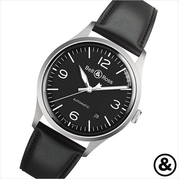 new concept cd147 c3415 ベル&ロス腕時計 BR V1-92 BLACK STEEL ベルロス 時計 ...