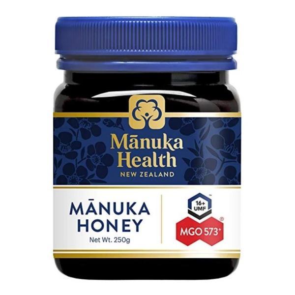 【 送料無料 】マヌカハニー MGO573 250g【平行輸入品:即納】【Manuka Health】  ニュージーランド ケーキ はちみつ 蜂蜜 天然 ナチュラル