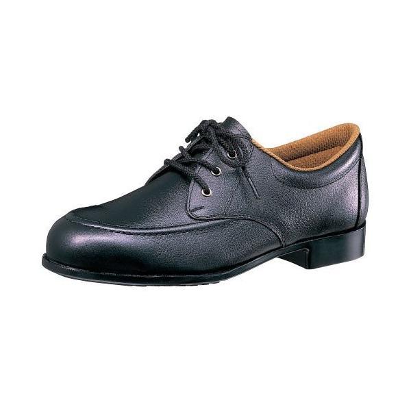 安全靴 ミドリ安全 女性用 ゴム底 ML410 ブラック 鋼製先芯 ラバー1層底 日本製