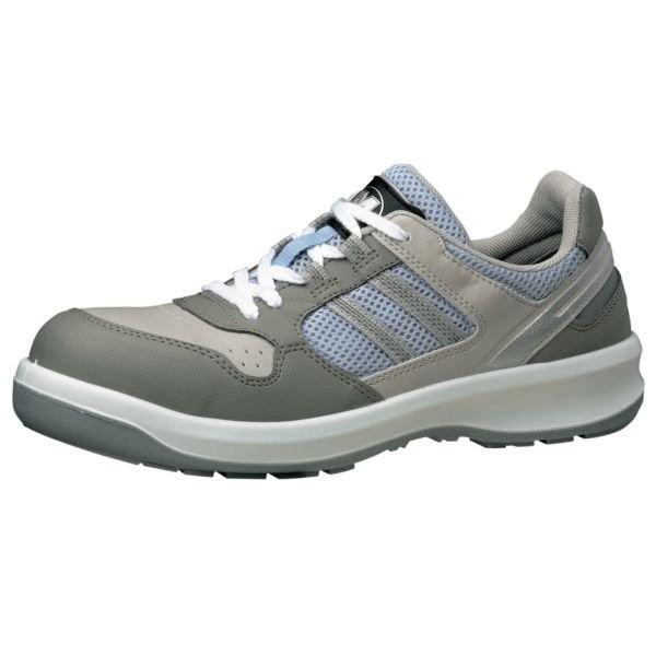 安全靴 ミドリ安全 スニーカー G3690 グレイ ローカット 革靴 メンズ レディース ひも ワイド樹脂先芯 メッシュ 通気性 蒸れない 日本製