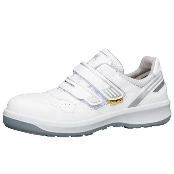 安全靴 ミドリ安全 メンズ レディース G3695 静電 マジックタイプ ホワイト 大サイズ ワイド樹脂先芯 メッシュ ローカット 通気性 蒸れない 日本製