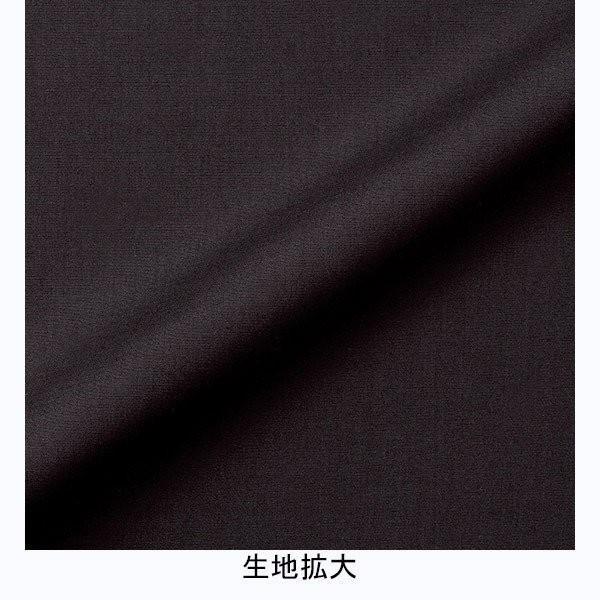 2Wayスタンドカラー七分袖 ブラウス FB4003L-16 ブラック レディス BONMAX ボンマックス オフィスウェア 事務服 通勤服|verdexcel-medical|04
