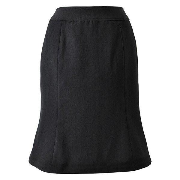 Excella マーメイドスカート ブラック AS2256-16 BONMAX ボンマックス 事務服 仕事着 通勤服|verdexcel-medical