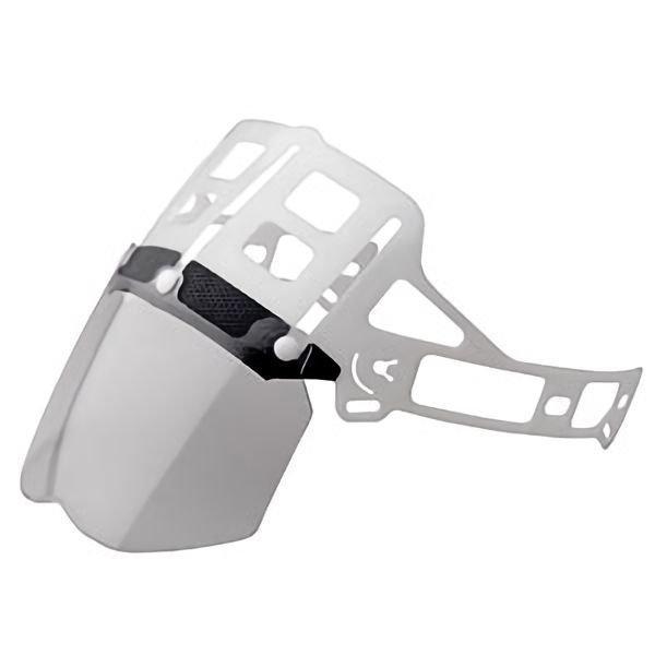 ミドリ安全 ヘルメット内装品 交換用 SC-MPCLLS用 シールド面セット 保護用 防災面