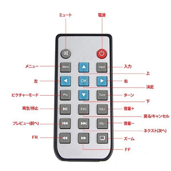 プロジェクター LED ホームシアター ミニ USB対応 フルHD HDMI ホームシネマ PC テレビ 映画 コンパクト SD USB 投影機 小型 軽量|versos|05