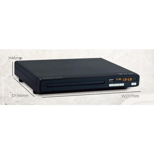 DVDプレーヤー 再生専用 本体 地デジ対応 据え置きタイプ リージョンフリー コンパクト 録音 再生 静止画表示 TEES DVD-2171 DVD DVD-R DVD-RW