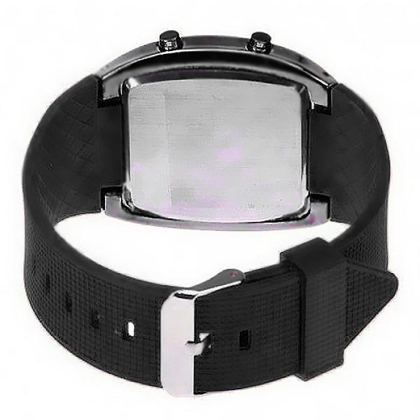腕時計 メンズ LED デジタルウォッチ カレンダー 日付表示 LEDデジタル腕時計 スピードメーター 速度計モチーフ 時計 デジタル表示 タコメーター おしゃれ|versos|03