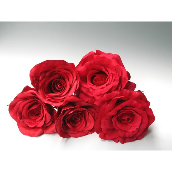 赤バラのみのパーツの髪飾り(5Uピンパーツ):HA018|vertpalette-store|03