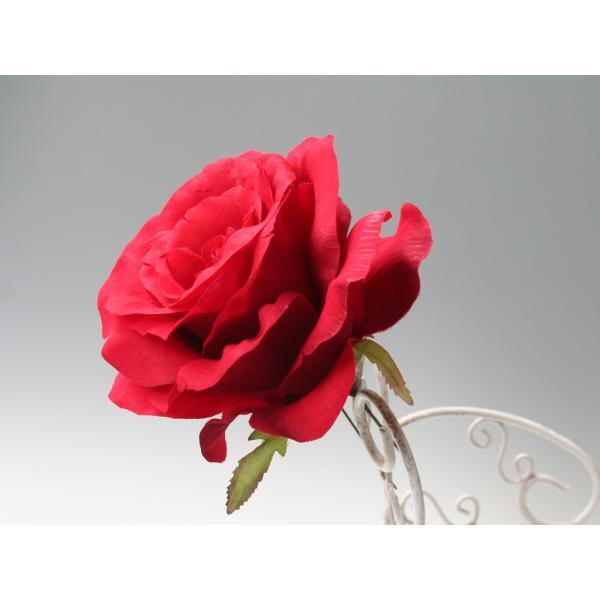 赤バラのみのパーツの髪飾り(5Uピンパーツ):HA018|vertpalette-store|06