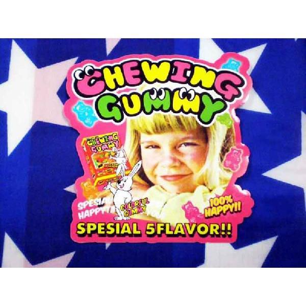 CHEWING GUMMY アメリカンポップ系 ステッカー チューインググミ