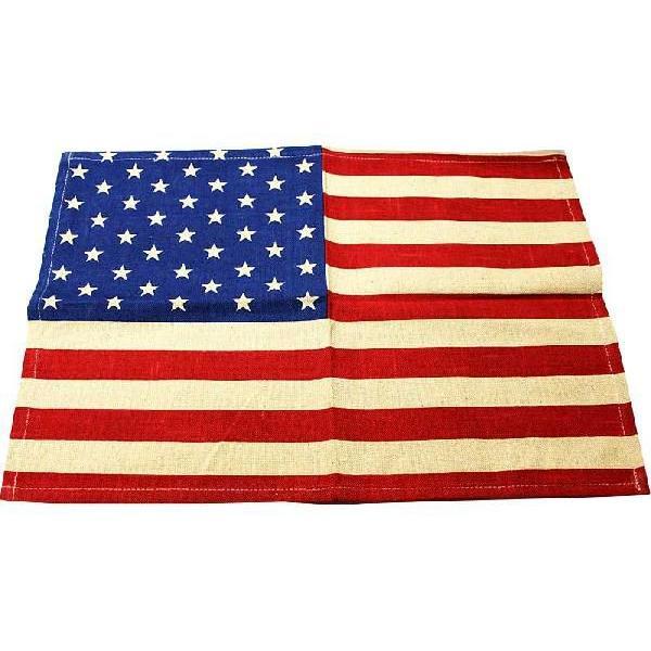 RoomClip商品情報 - 星条旗 ランチョンマット コットン製 アメリカ 雑貨 アメリカン雑貨