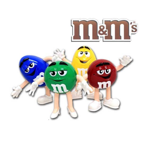 m&m's チョコレート ペンダブルフィギュア 4体セット