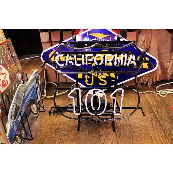 アメリカの国道101号線 ネオン管 標識型 カリフォルニア区間|veryberry|03
