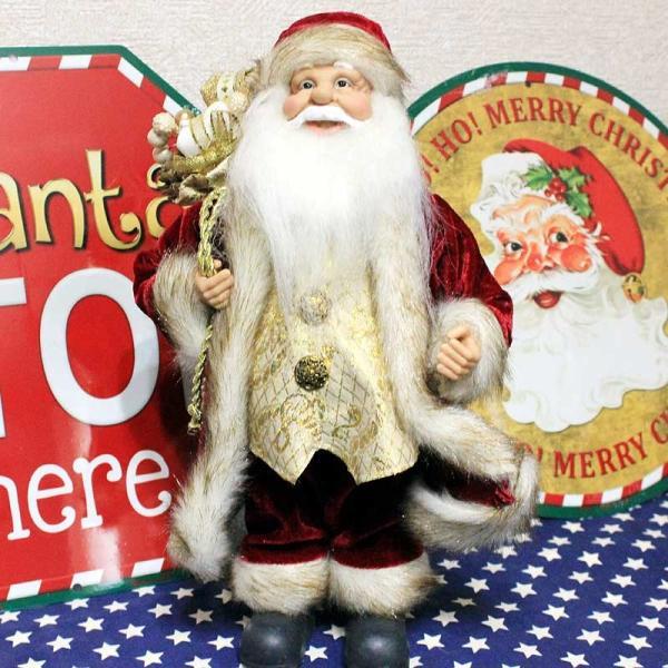 クリスマス 雑貨 サンタクロース 人形 置物