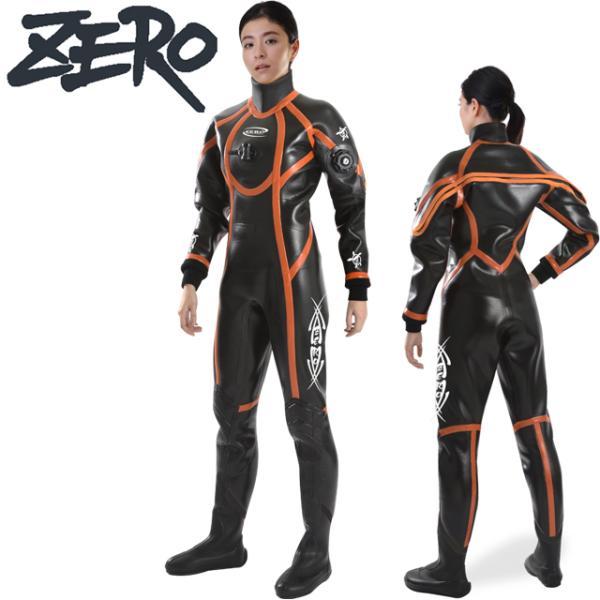 ZERO ゼロ FRONTIER 3 DRY SUITSドライスーツ レディース LADIES 2mm ラジアルドライスーツ スポーツ SPORTS 3-24 ダイビング レディース DRY 保温