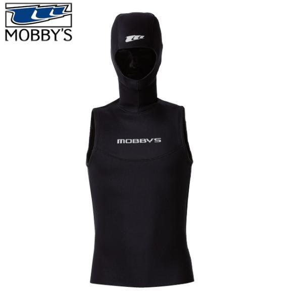モビーズ MOBBYS フードベスト DA-4300 3.5mm ダイビング 防寒 ウェットスーツ ウエットスーツ 保温 男性 女性 メンズ レディース ストレッチ