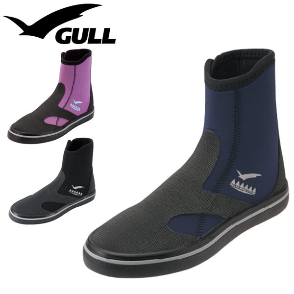 GULL ガル GSBOOTS GSブーツ2 GA-5644 GA-5645 ダイビングブーツ マリンブーツ GULL レディース ウィメンズ