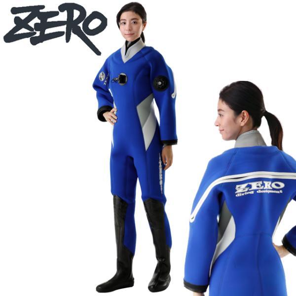 ZERO ゼロ PHOENIX 3-SL 3 DRY SUITSドライスーツ レディース LADIES 3.5mm 5.0mm ドライスーツ スポーツ SPORTS ダイビング