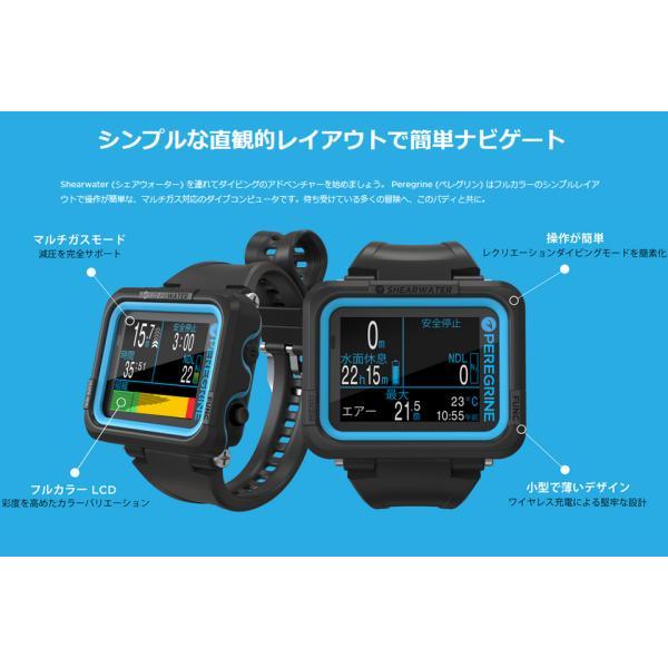 レシオ アイエックススリーエム iX3M GPS Easy 大画面 ワイド 2.8インチ カラーディスプレイ ダイビングコンピューター ダイコン USB 充電式|verygood|02