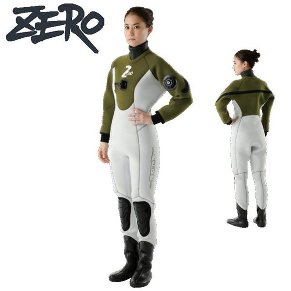 ZERO ゼロ LASER 7 麗 Rei DRY SUITSドライスーツ レディース LADIES 7-35K 3.5mm 5.0mm ドライスーツ スポーツ SPORTS ダイビング