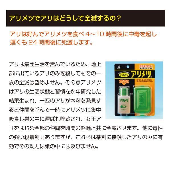 アリの巣退治 アリメツ 専用容器付セット 蟻 退治 駆除剤 薬剤|vg-harada|03