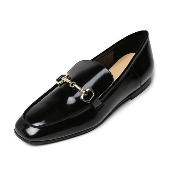 ファビオルスコーニ ローファー レディース ホースビット 金具付き オジ靴