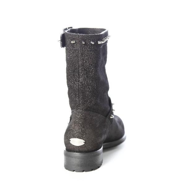 2015年秋冬新作 ジミーチュウ JIMMY CHOO ブーツ エンジニアブーツ 靴 レディース DASH MGD ANTRACITE