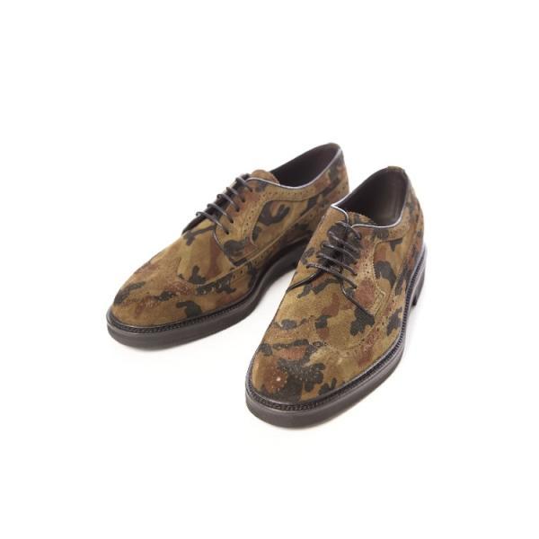 ハイドロゲン スニーカー レースアップシューズ オックスフォード 靴 メンズ 17H001 迷彩 HYDROGEN 目玉商品