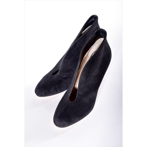 ジャンヴィトロッシ GIANVITO ROSSI パンプス ブーティ 靴 レディース G29610 CAMOSCIO ブラック SALE16AW