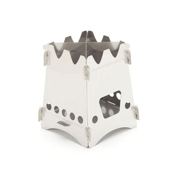 エンバーリット Emberlit Stove(Stainless Steel) スリーブセット ストーブ アウトドア 加熱|vic2