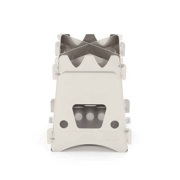 エンバーリット Emberlit Stove(Stainless Steel) スリーブセット ストーブ アウトドア 加熱|vic2|03