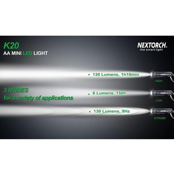 ネクストーチ NEXTORCH K20 ハンディライト LEDライト ミニライト ポケットライト|vic2|03